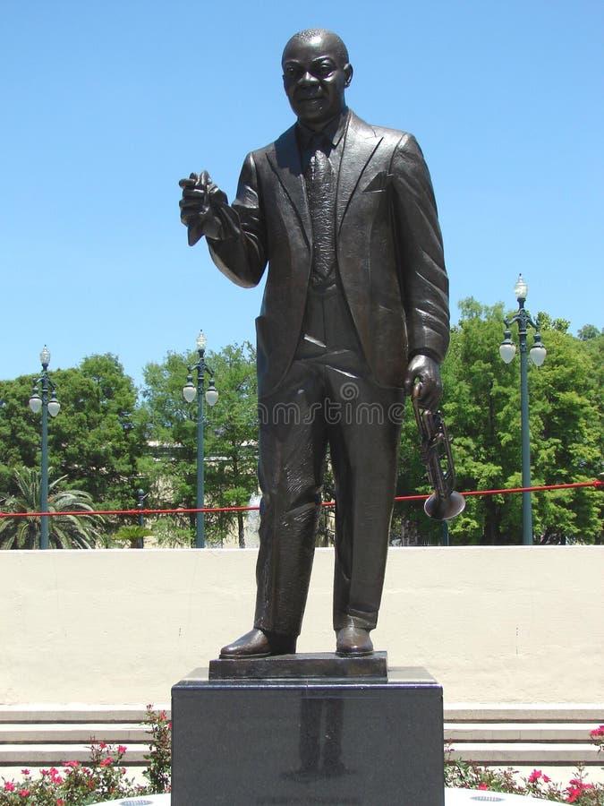 Nova Orleães Art In Louis Armstrong Park fotos de stock