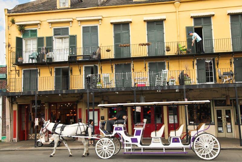 Nova Orleães - cena da rua imagens de stock royalty free