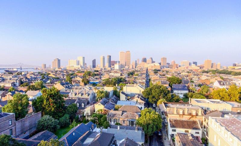 Nova Orleães do centro, Louisiana em julho imagens de stock royalty free