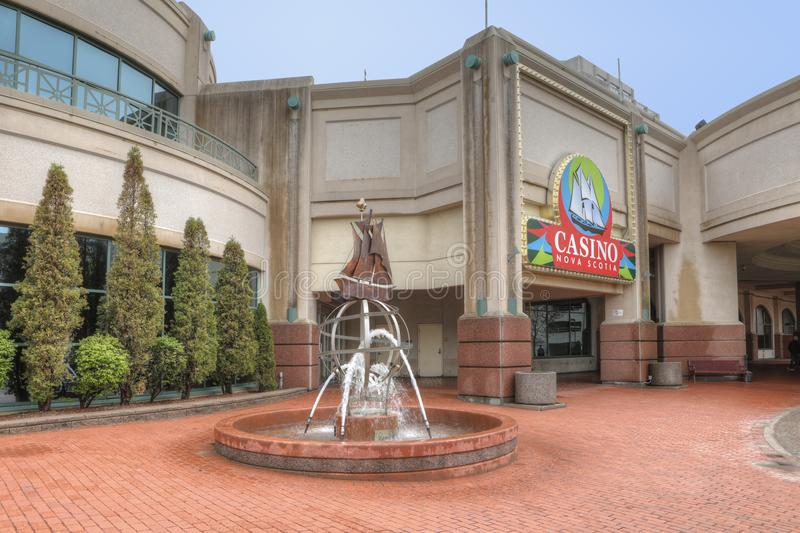Nova Scotia Casino in Halifax, Kanada stockfotografie