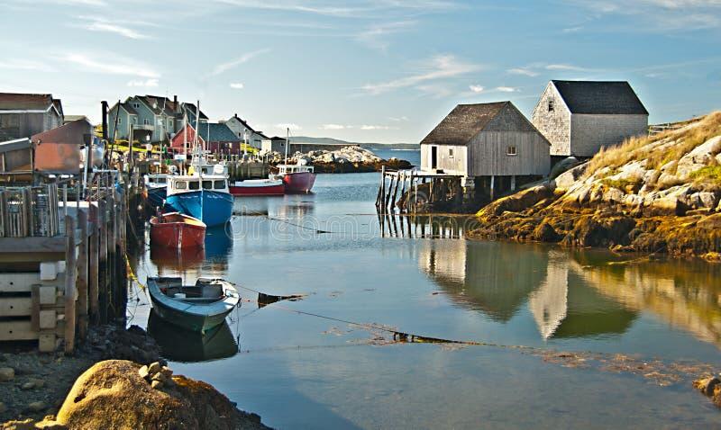 Nova Scotia Harbor immagine stock