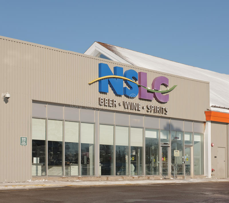 Nova Scotia Liquor Corporation Storefront photos libres de droits