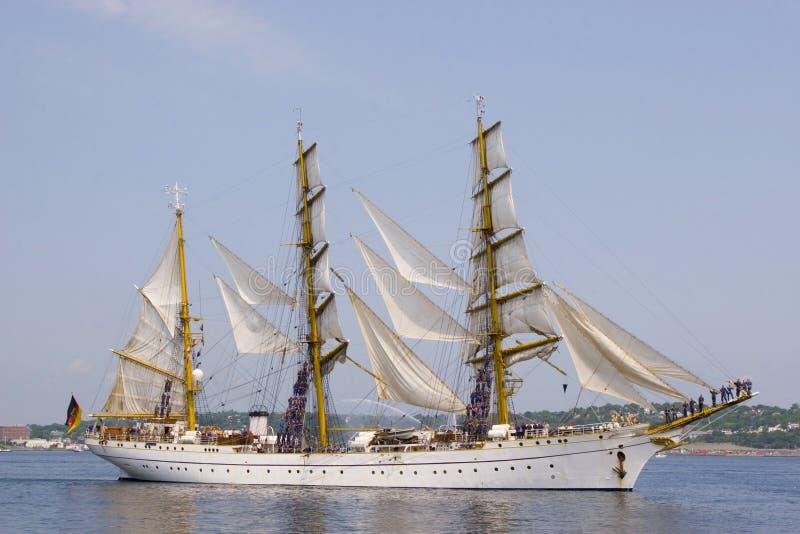Nova Scotia Tall Ships royalty free stock image