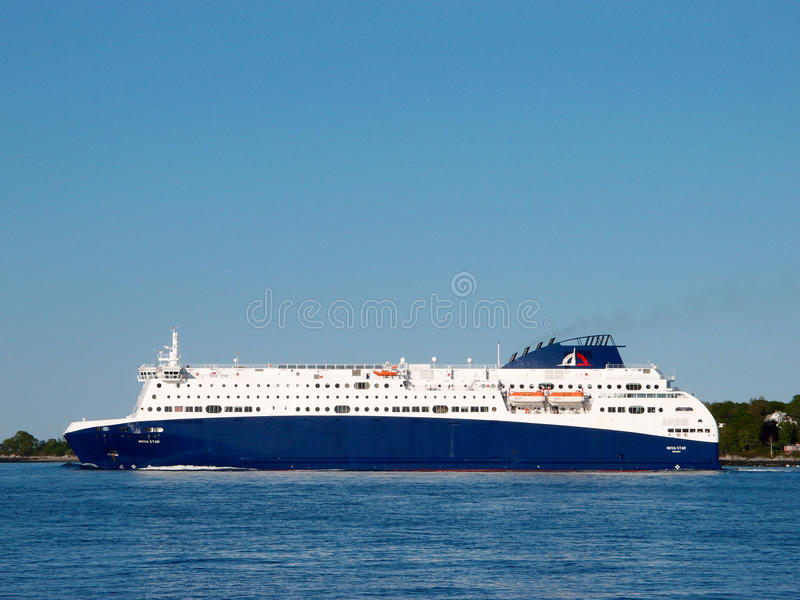 Nova Star Cruises assale Portland fotografia stock
