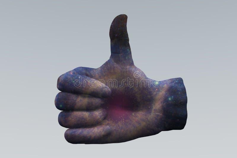 Nova Thumbs Up eccellente royalty illustrazione gratis