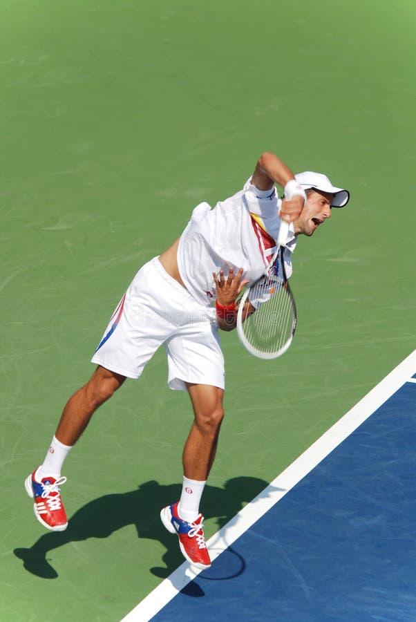Novack Djokovic photos libres de droits