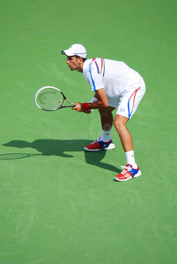 Novack Djokovic photo libre de droits
