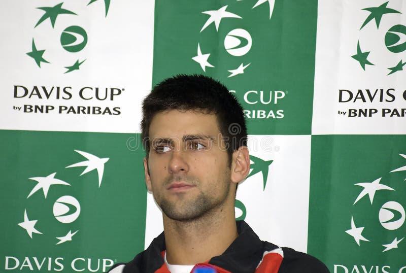 Novak Djokovic fotografia de stock royalty free