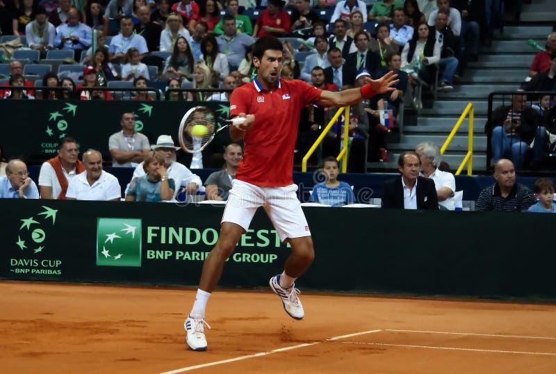 Novak Djokovic-11 fotografia de stock royalty free