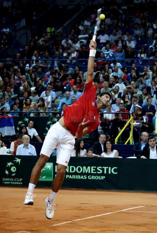 Novak Djokovic-12 fotos de stock royalty free
