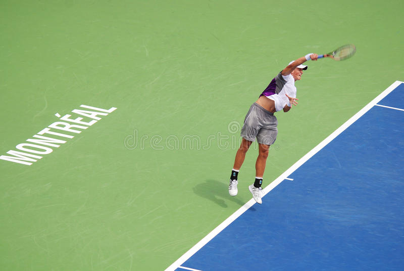 Novak Djokovic image libre de droits