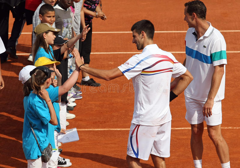 Download Novak Djokovic (SRB) At Roland Garros 2011 Editorial Photo - Image: 19589231