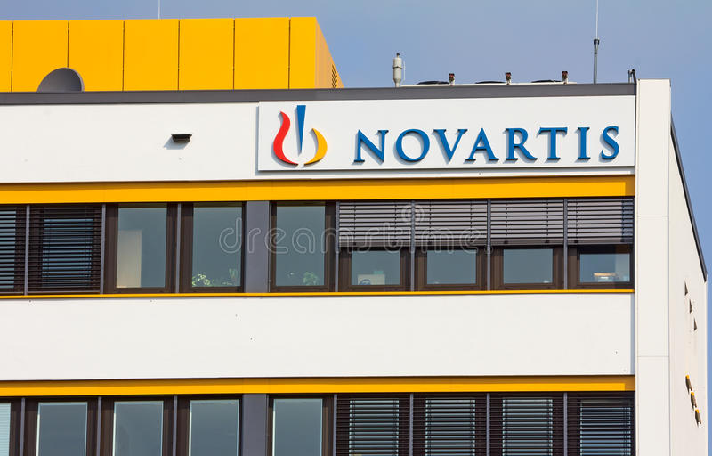 Novartis photographie stock