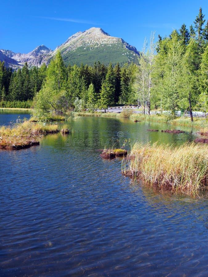 Nove Strbske Pleso in High Tatras royalty free stock image