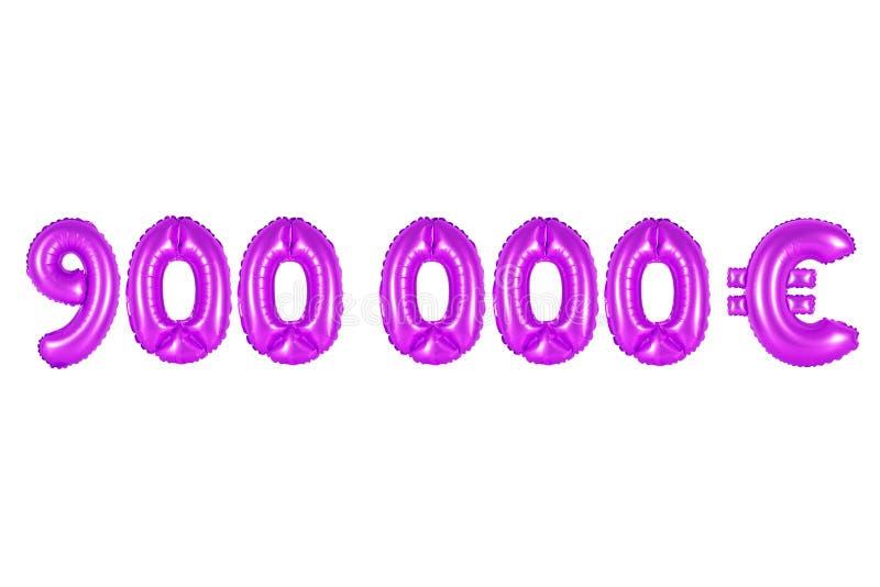 Novecentos mil euro, cor roxa fotos de stock royalty free