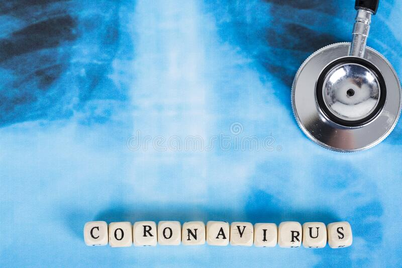 Novel Coronavirus, cúvio-19, conceito do vírus Wuhan da China fotografia de stock royalty free
