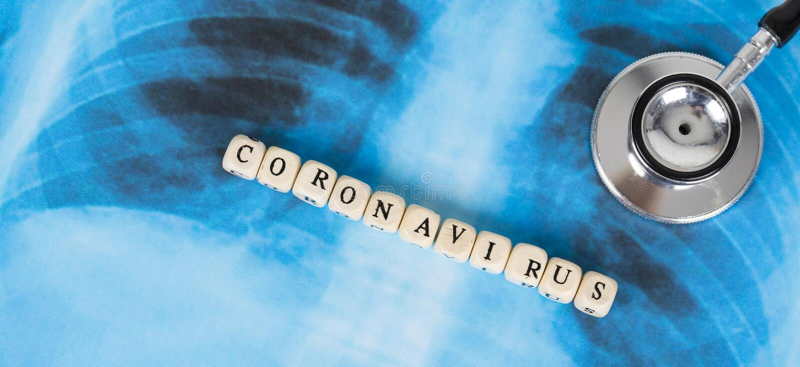 Novel Coronavirus, cúvio-19, conceito do vírus Wuhan da China fotografia de stock