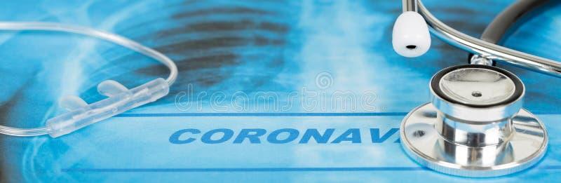 Novel Coronavirus, cúvio-19, conceito do vírus Wuhan da China foto de stock royalty free