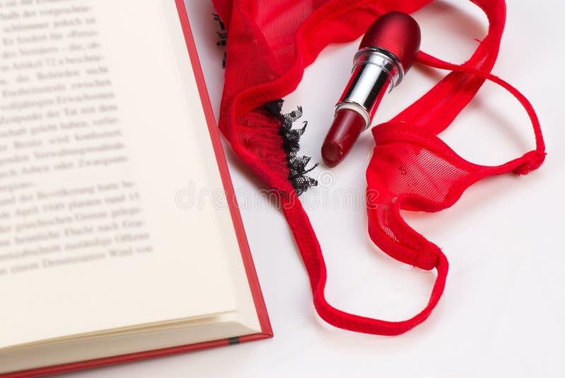 Novela romântica imagens de stock