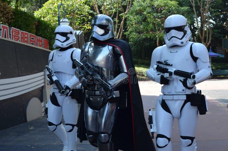 November 2017 Hong Kong Disneyland royaltyfria bilder