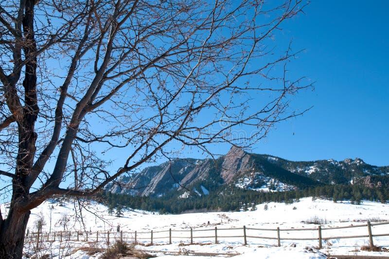 November landscape stock image