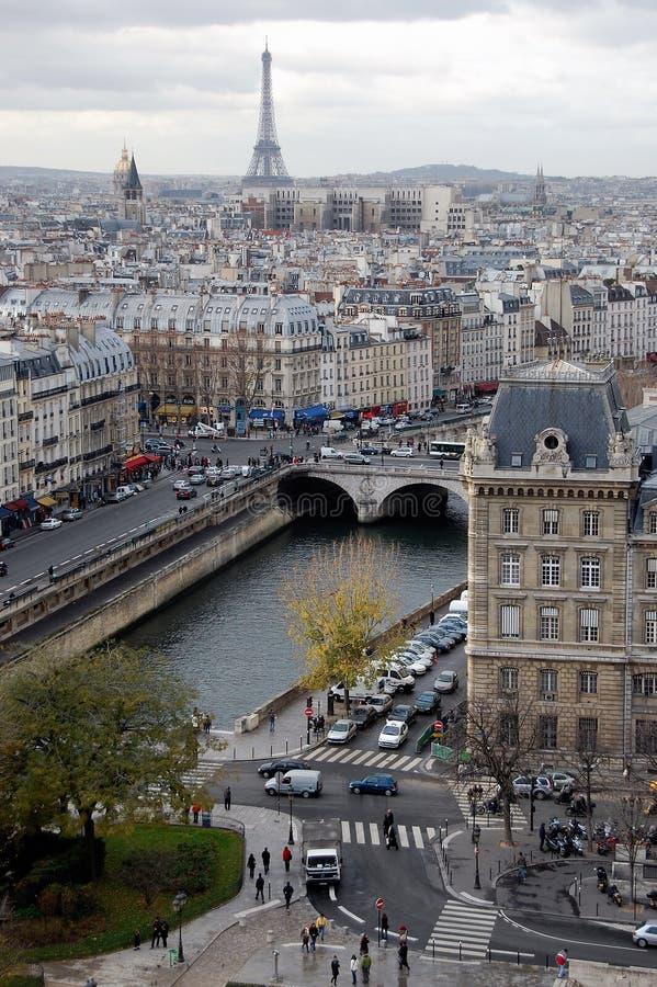 November in Paris royalty free stock photos