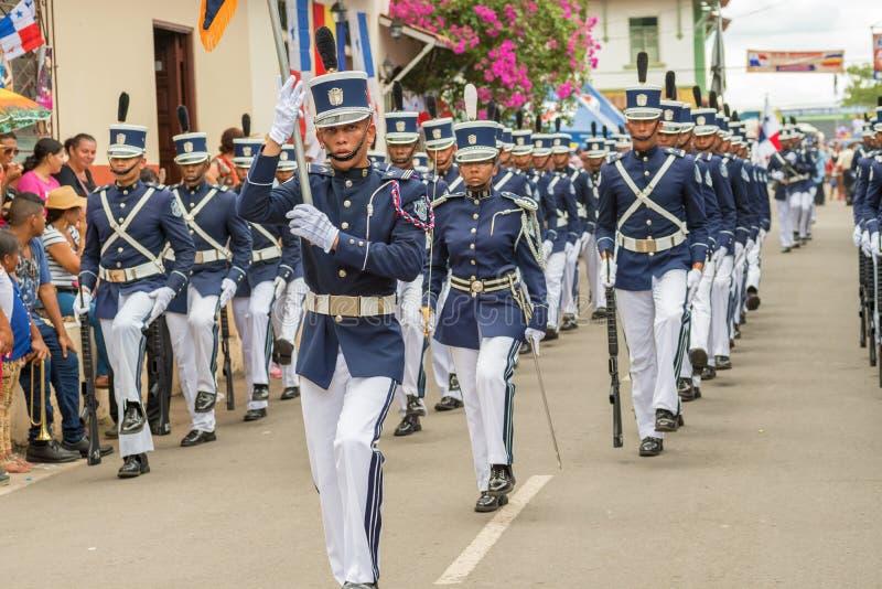 November ståtar i Lavilla i Panama royaltyfri bild