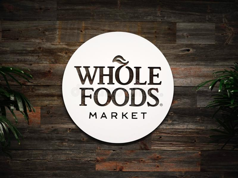 Editorial: Whole Foods Market. November 17th 2018 Editorial Image: Whole Foods Market an Amazon Company royalty free stock images