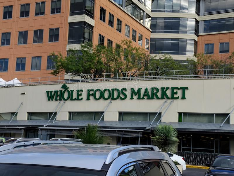 Editorial: Whole Foods Market. November 17th 2018 Editorial Image: Whole Foods Market an Amazon Company stock image
