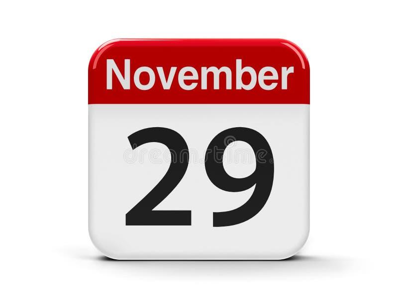 29 novembre illustration libre de droits