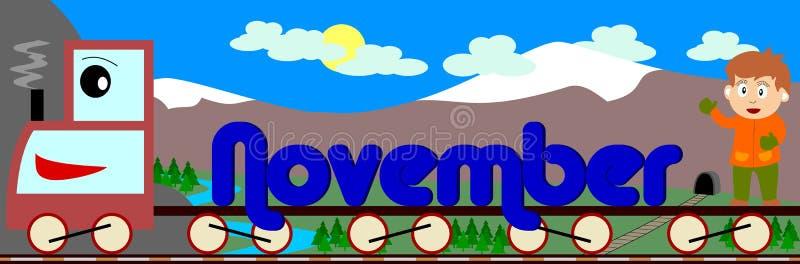 Novembre royalty illustrazione gratis