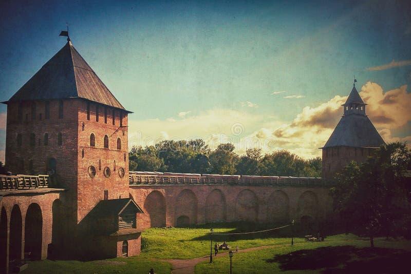 Novgorod Kremlin fotos de archivo