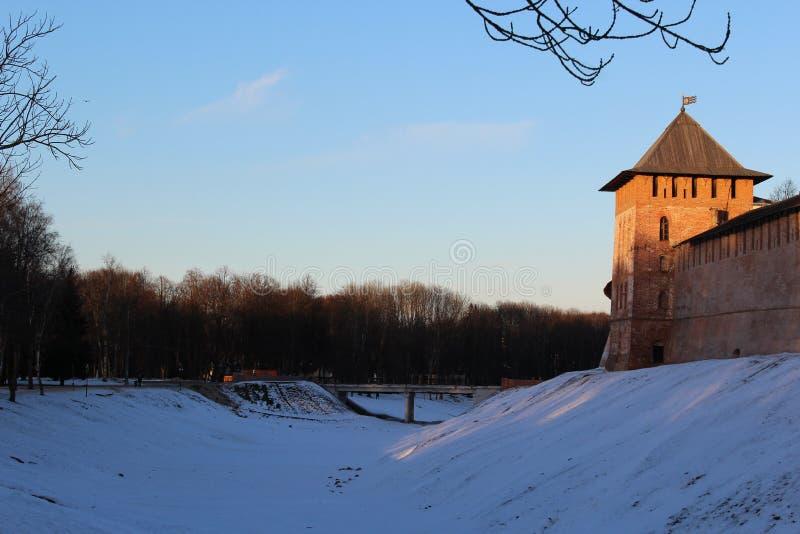 Novgorod Kremlin imagem de stock royalty free