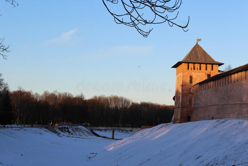 Novgorod Kremlin fotografia de stock royalty free