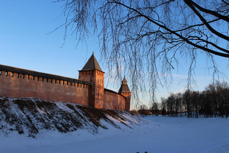 Novgorod Kremlin imágenes de archivo libres de regalías
