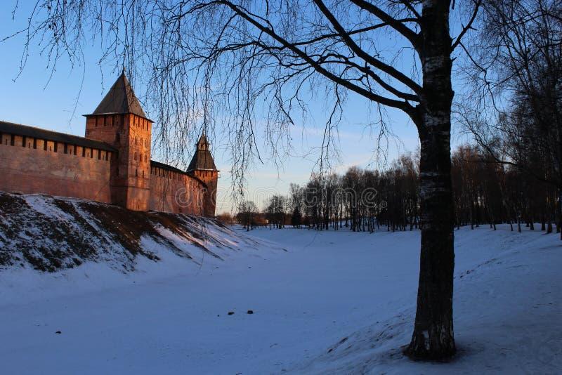 Novgorod Kremlin imagem de stock