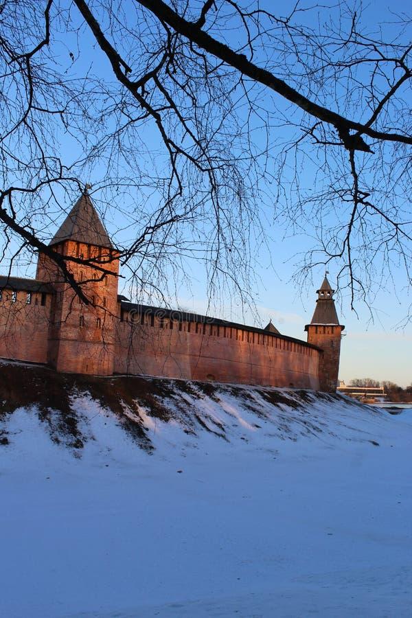 Novgorod Kremlin fotografía de archivo