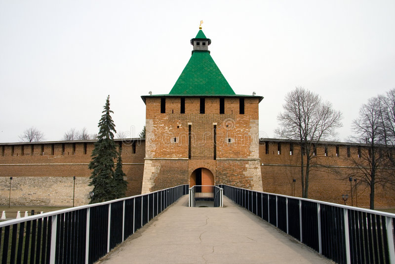 novgorod kremlin nizhny стоковое изображение
