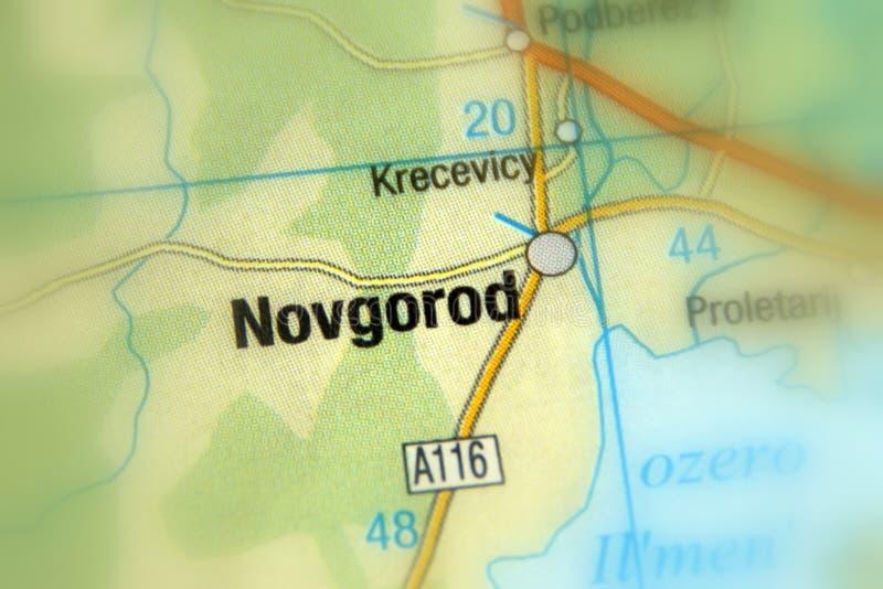 Novgorod Ryssland - Eurasia royaltyfria foton