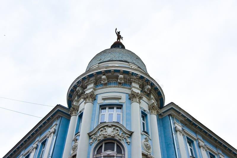 Novi грустное/Сербия - 06 05 2019: Здание Novi грустное Zepter стоковое изображение
