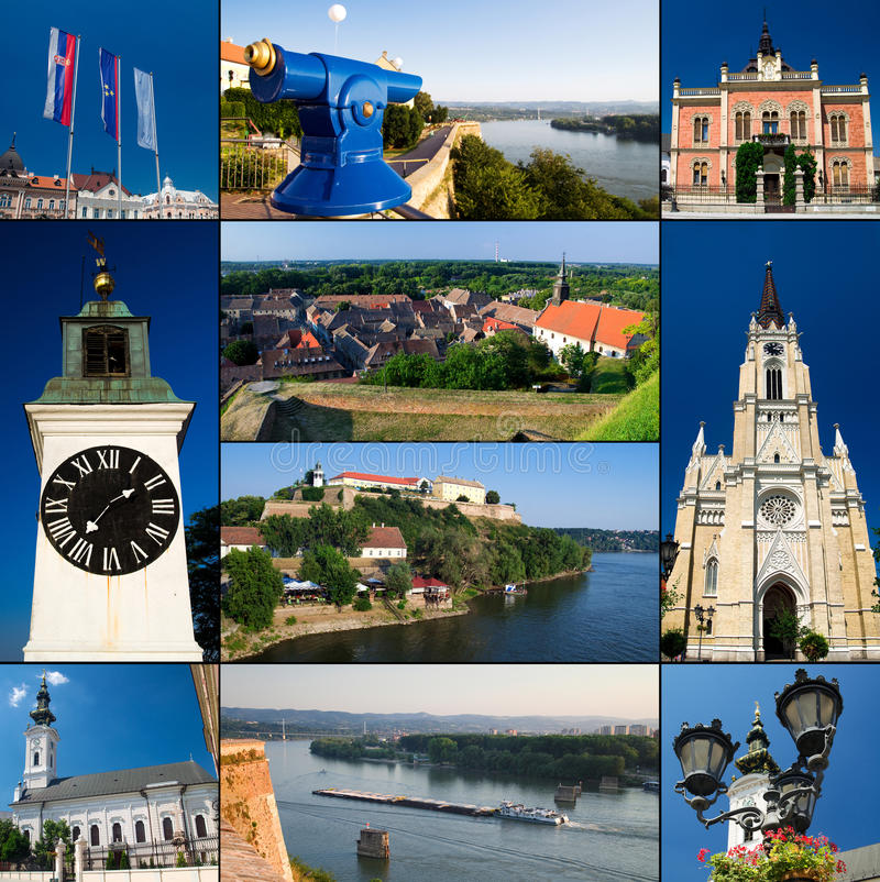 Novi Sad - Serbia. Novi Sad is the second largest city in Serbia and the capital of the northern Serbian province of Vojvodina. For 11 years is home to Exit royalty free stock photo