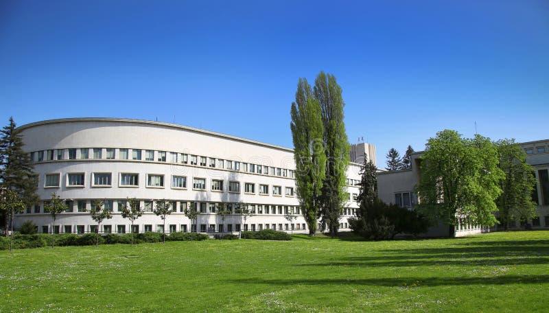 Novi Sad, Serbia. Banovina palace, Parliament building of province Vojvodina in Novi Sad, Serbia stock photography