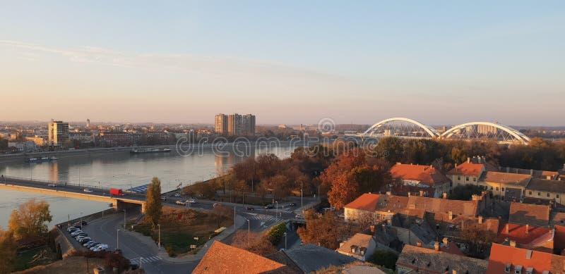 Novi Sad - Serbia. Bridge royalty free stock image