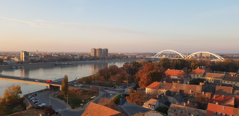 Novi Sad - Servië royalty-vrije stock afbeelding