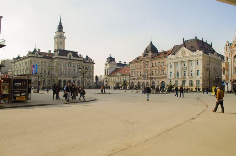 Novi Sad Vojvodina, Serbien arkivfoto