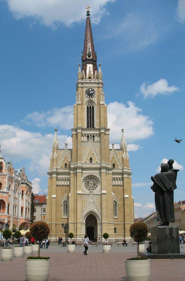 Novi traurig, Serbien lizenzfreies stockbild