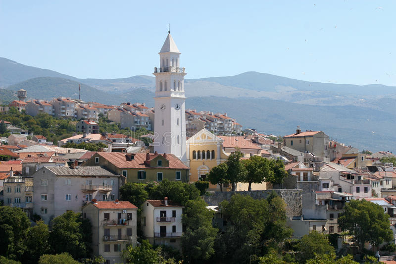 Novi Vinodolski, Croatia. fotografia stock libera da diritti