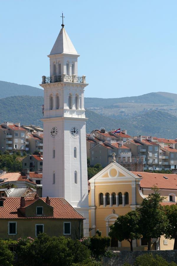 Novi Vinodolski, Croatia. immagine stock libera da diritti