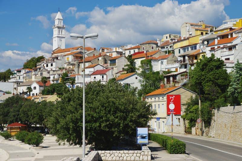 Novi Vinodolski, Croatia fotografie stock libere da diritti