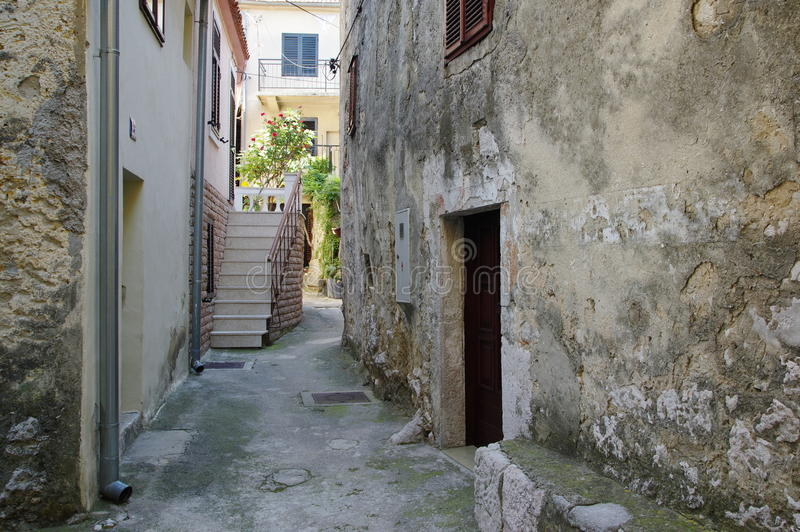 Novi Vinodolski, Croatia fotografia stock libera da diritti